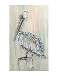 demdaco pelican by jenifer sundria canvas wall art on pelican canvas wall art with demdaco pelican by jenifer sundria canvas wall art stage stores