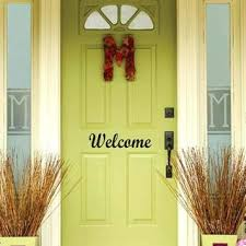 farmhouse style front doorsOverwhelming Welcome Decals For Front Door Modern Farmhouse Style