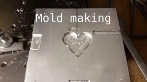 diy milling aluminium plastic injection mold