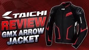 rs taichi rsj832 gmx arrow leather jacket review from sportbiketrackgear com