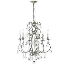 6 light candle chandelier amp reviews wayfair chandeliers