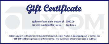 Give The Gift Of Axiom Audio Axiom Audio