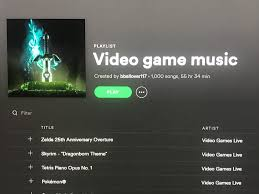 Just hit 1,000 songs and counting on my ultimate video game music playlist!  : gaming