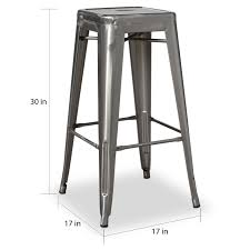 30 in bar stools. Carbon Loft Tabouret 30-inch Vintage Gunmetal Barstools (Set Of 2) - Free Shipping Today Overstock 14366774 30 In Bar Stools