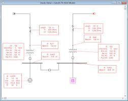 electrical one line diagram   power system single line diagram    datablock