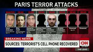 sources terrorist s cell phone recovered