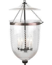 bell jar lighting fixtures. Vertical Leaf Prismatic Etching Hundi Glass Bell Jar Lantern 12\ Lighting Fixtures R