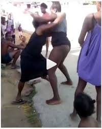 Women in strip fights