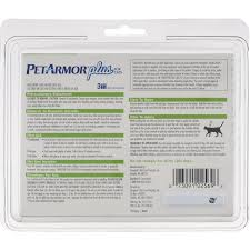 PetArmor Plus Flea and Tick Prevention for Cats, 3 Monthly ...