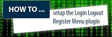 The Word Menu Word Press Login Logout Register Menu Plugin