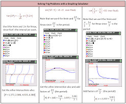 solving trig problems with a calculator