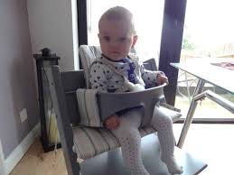 back in october i wrote a review of the awesome stokke tripp trapp chair and newborn set which we were kindly sent for review when baby l was only a few