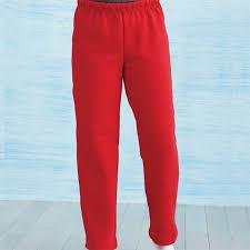 Gildan Open Bottom Sweatpants Size Chart Gildan G184b Youth Heavy Blend 50 50 Open Bottom Sweatpants