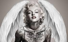 Marilyn Monroe Wallpaper For Bedroom Angel Marilyn Monroe By Daddyde187 On Deviantart