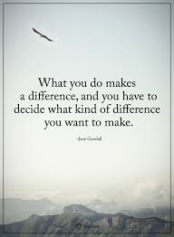 Making A Difference Quotes Adorable Pin By Chaya R On Quotes I Love Pinterest Jane Goodall Quote