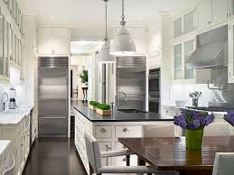 White Ice Granite Kitchen Black White Stainless Steel Kitchen White Ice Granite White