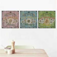 Living Room Art Paintings New Canvas Painting Flower Wall Art Picture Cuadros Decoration
