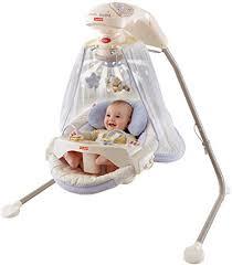 Amazon.com : Fisher-Price Papasan Cradle Swing, Starlight ...
