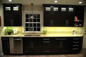 under cupboard led strip lighting. Under Cabinet Led Lighting Kitchen Using Warm White Strip Lights Plus Gray Dining Cupboard