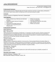 Pharmacist Resume Sample Delectable Retail Pharmacist Resume Sample Pharmacist Resumes LiveCareer