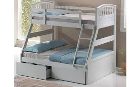 three sleeper wooden bunk bed options