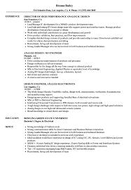 Ic Design Engineer Resume Analog Design Resume Samples Velvet Jobs