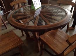 Reclaimed Teak Dining Table Reclaimed Ox Cart Teak Dining Table With Chairs From Chiang Mai