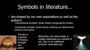 for monday terms to know symbolism allegory irony existentialism  9 symbols in literature