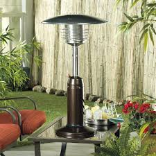 propane patio heater with table. Simple Table Garden Treasures Outdoor Patio Heater With Table Az Heaters Tall Propane  Bar E