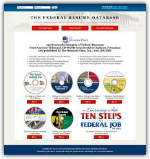 Federal Resume Database