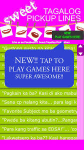 Sweet Tagalog Pickup Lines For Android Apk Download