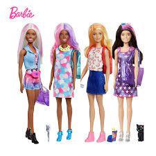 Búp Bê Barbie Màu Tiết Lộ Hàng Đêm Biến Đổi Theo Chủ Đề Búp Bê Cảm Biến  Nhiệt Độ Đổi Màu 25 Bất Ngờ Mù Hộp Đồ Chơi GPD54|Dolls