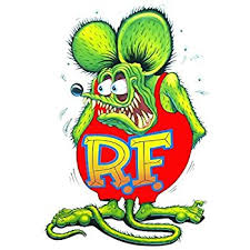 amazon com rat fink small decal 3 free shipping from the united