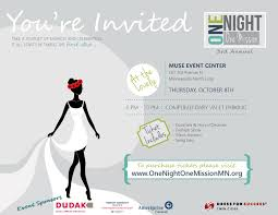 one night one mission dress for success twin cities one night one mission