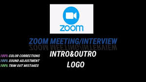 you zoom meeting or zoom interview