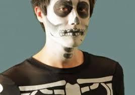 easy makeup men makeup tutorial skeleton