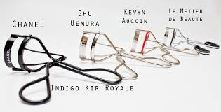 shu uemura eyelash curler vs shiseido. another photo to show the maximum opening of curlers. you can see that kevyn aucoin eye lash curler opens widest four. shu uemura eyelash vs shiseido