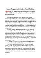 an essay on time machine the time machine critical essays enotes com