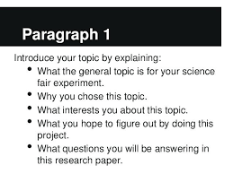 Research Report Template Middle School Paper Outline For Students ...
