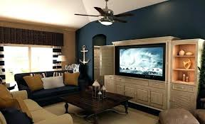 living room with blue accents living room with blue accents navy blue accent wall living room