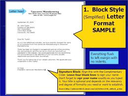 Full Block Style Application Letter 25 Inspirational Semi Block