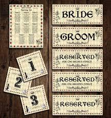 Printable Alice In Wonderland Wedding Seating Chart Diy