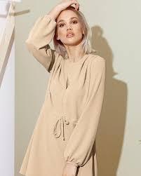 <b>Женственное</b> платье бежевого цвета Gepur недорого с ...