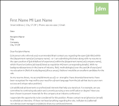Cover Letter Templates Free Download Cover Letter Template Free Download Initials In Colored Box