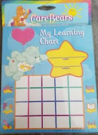 Details About Care Bears My Learning Chart 50 Pages