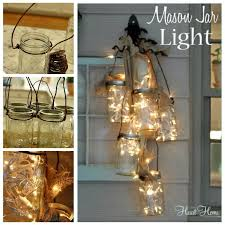 Diy Decorative Mason Jars Ideas DIY Mason Jar Light 48
