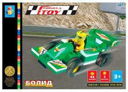 <b>Конструктор 1 TOY</b> Формула <b>1TOY</b> Т50774 Болид — купить по ...