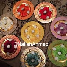 Mehndi Tray Decoration mehndi trays for fun Google Search wedding Pinterest Mehndi 87
