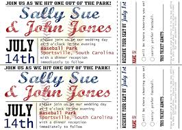 Invitation Ticket Template template Baseball Ticket Template This Invitation Baseball Ticket 86