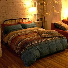 boho bedding sets bohemian bedding sets morocco stripe pattern chic duvet cover